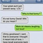 LOL mom